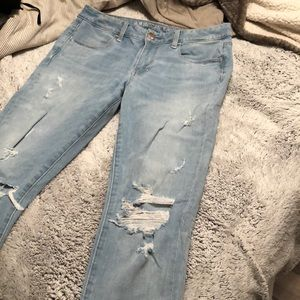 Like new American Eagle Outfitters skinny jeans